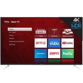 "TCL 55"" Class 4K UHD Roku Smart TV - 55S423"