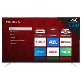 "TCL 65"" Class 4K UHD Roku Smart TV - 65S423"
