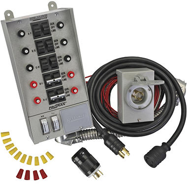 Transfer Switch Kit (10 Circuits) - 4 pc.