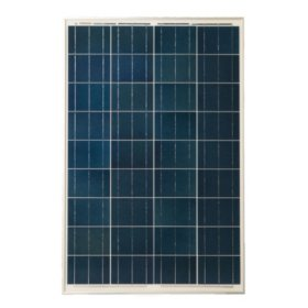 Grape Solar 100-Watt Polycrystalline Solar Panel for RVs, Boats and 12-Volt Systems