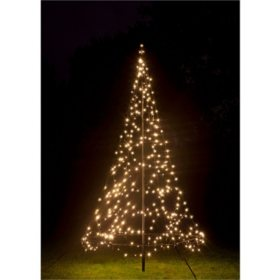 985 fairybell outdoor led christmas tree with 360 warm led lights detail 2
