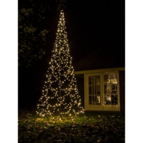 1375 fairybell outdoor led christmas tree with 640 warm white led lights sams club