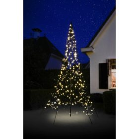 10' Fairybell Outdoor Christmas Tree with 360 LED Lights