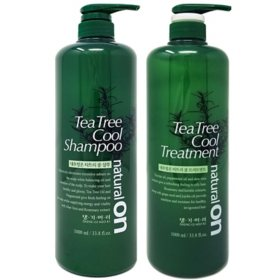 Daeng Gi Meo Ri NaturalOn Tea Tree Cool Shampoo and Treatment (1000 ml., 2 pk)