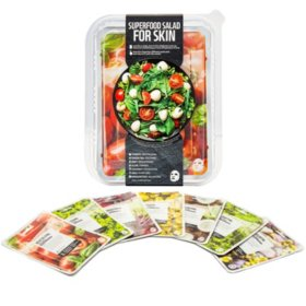 Superfood Salad Facial Sheet Mask Set (7 pk.)