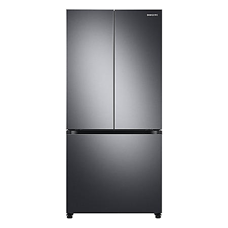 Samsung 18 cu. ft. Smart Counter Depth 3-Door French Door Refrigerator