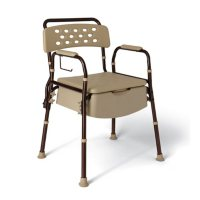 Medline Elements Bedside Commode with Microban