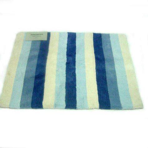Fashion Rug 100% Cotton - Blue