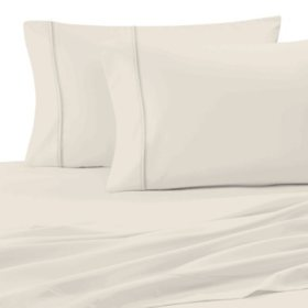 Ultimate Percale Cool and Breathable 100% Cotton Pillowcases (Assorted Colors and Sizes)