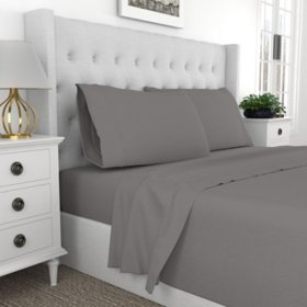Ultimate Percale Cool and Breathable 100% Cotton Sheet Set & Pillowcases (Assorted Colors and Sizes)