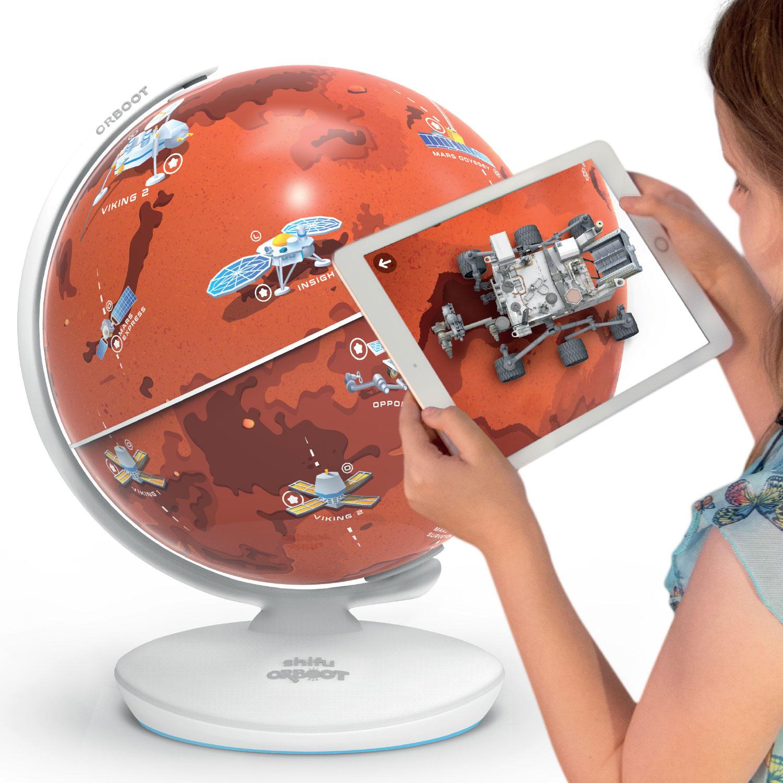 PlayShifu Orboot Mars, Interactive AR Mars Globe