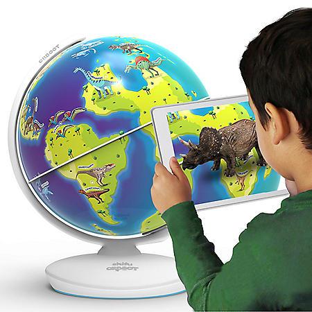 Orboot Dinos by PlayShifu, Interactive AR Dinosaur Globe, Ages 4-10 (App Based)