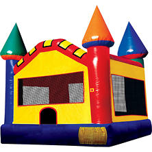 Castle II Inflatable Jump - 15'