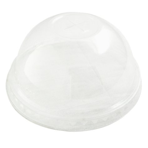 World Centric Compostable Dome Drink Lids, Fits 10-24 oz. (1,000 ct.)