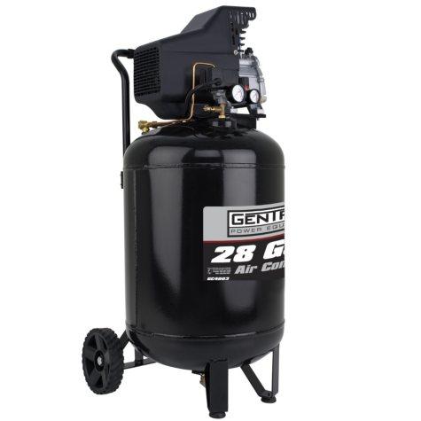 Gentron Vertical Air Compressor - 28 Gallons