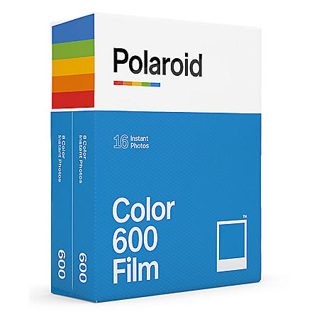 Polaroid Color 600 Film (Select Pack Size)