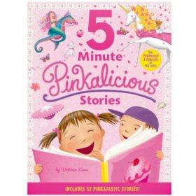Pinkalicious: 5-Minute Pinkalicious Stories : Includes 12 Pinkatastic Stories.
