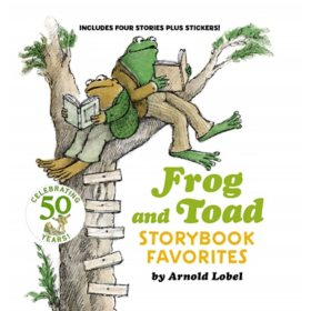 Frog and Toad Storybook Favorites: Includes 4 Stories, Plus Stickers