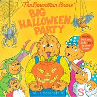 The Berenstain Bears' Big Halloween Party : Includes Stickers, Cards, and a Spooky Poster.