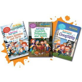 My Weird School Fast Facts History, Space and Geography Bundle