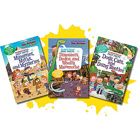 My Weird School Fast Facts Animals, Creatures and Legends Bundle
