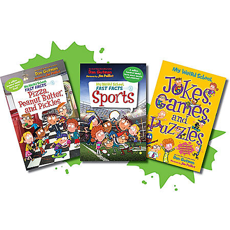 My Weird School Fast Facts Food, Sports and Activity Bundle