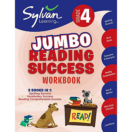4th Grade Jumbo Reading Success Workbook: Activities, Exercises, and Tips to Help Catch Up, Keep Up, and Get Ahead