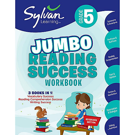 5th Grade Jumbo Reading Success Workbook: Activities, Exercises, and Tips to Help Catch Up, Keep Up, and Get Ahead