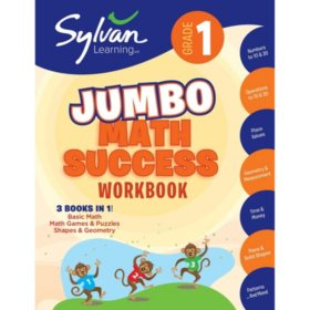 1st Grade Jumbo Math Success Workbook: Activities, Exercises, and Tips to Help Catch Up, Keep Up, and Get Ahead