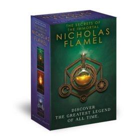 The Secrets of the Immortal Nicholas Flamel Boxed Set (3-Book)
