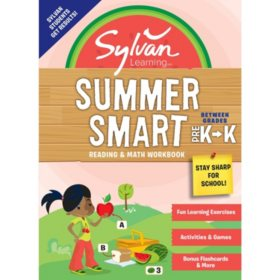 Sylvan Summer Smart Workbook: Between Grades Pre-K and Kindergarten