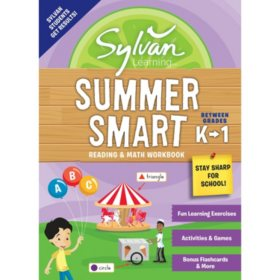 Sylvan Summer Smart Workbook: Between Grades K and 1