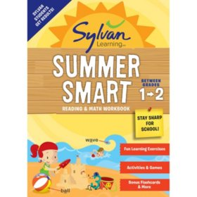Sylvan Summer Smart Workbook: Between Grades 1 and 2