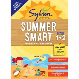 Sylvan Summer Smart Workbook: Between Grades 1 and 2