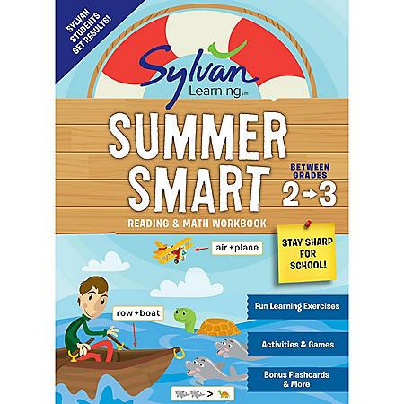 Sylvan Summer Smart Workbook: Between Grades 2 and 3
