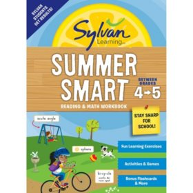 Sylvan Summer Smart Workbook: Between Grades 4 and 5