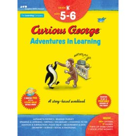 Curious George Adventures in Learning, Kindergarten:Story-based learningCurious George Adventures in Learning, Kindergarten : Story-based learning