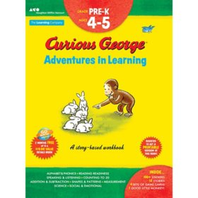Curious George Adventures in Learning, Pre-K?:?Story-based learning
