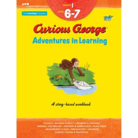 Curious George Adventures in Learning, Grade 1:Story-based learning