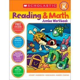 Scholastic Pre-K Jumbo Workbook