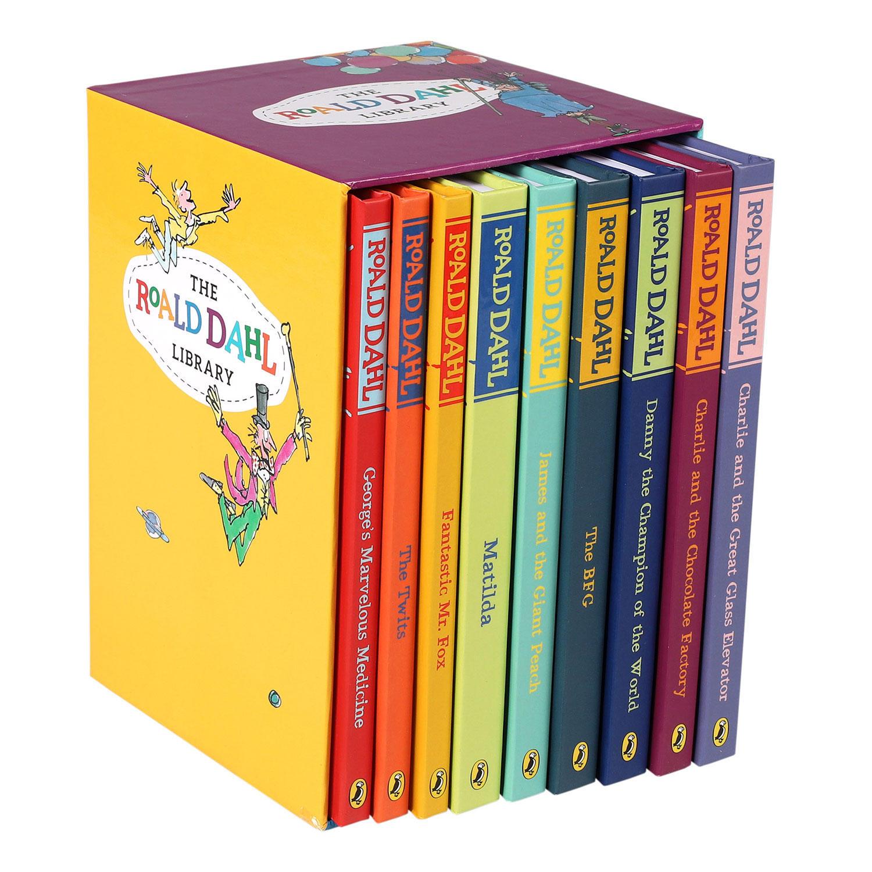 Non-License The Roald Dahl Library 9 Book Set