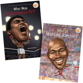 Who Was 2 Pack Book Set: Michael Jordan and Muhammad Ali
