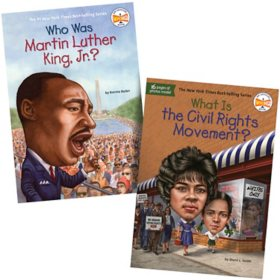 Who Was 2 Pack Book Set: Martin Luther King, Jr. and Civil Rights