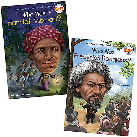 Who Was 2 Pack Book Set: Frederick Douglass and Harriet Tubman