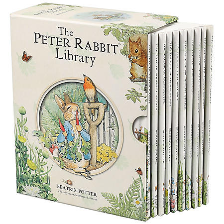 The Peter Rabbit Library (10 Book Set)