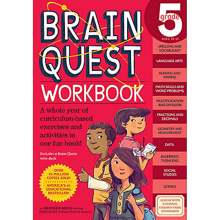 Brain Quest Workbook: Grade 5