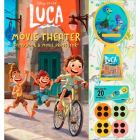 Disney Pixar: Luca Movie Theater Storybook and Projector