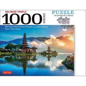 Balinese Temple 1000-Piece Jigsaw Puzzle