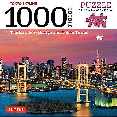 Tokyo Skyline 1000-Piece Jigsaw Puzzle