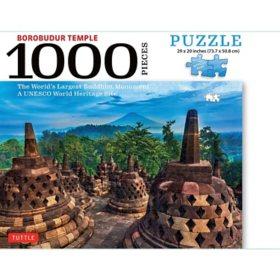 Borobudur Temple 1000-Piece Jigsaw Puzzle
